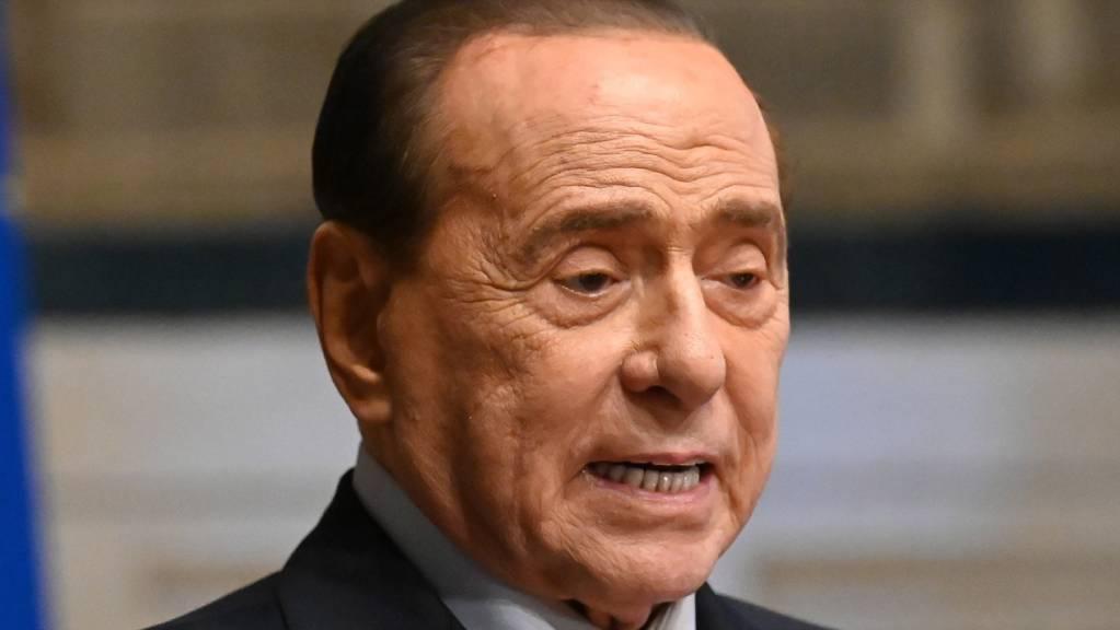 ARCHIV - Der frühere italienische Premierminister Silvio Berlusconi. Foto: Alessandro Di Meo/LaPresse via ZUMA Press/dpa