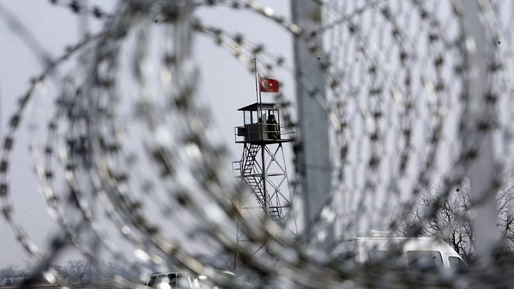 An der Grenze zwischen Griechenland und der Türkei wurde die 31-jährige F.S. aus Winterthur verhaftet. Getty Images