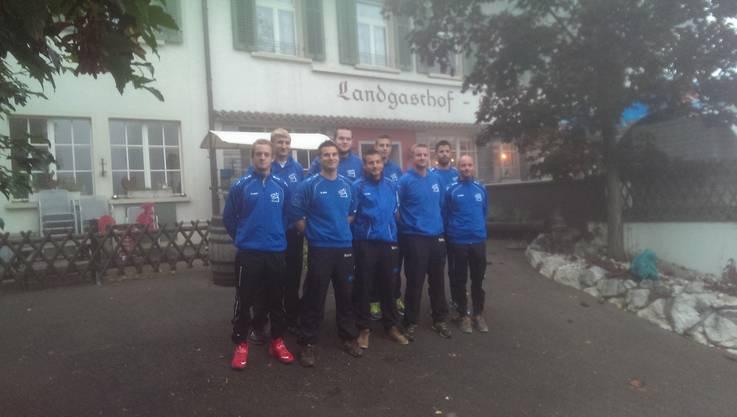 Mannschaft STV Bözberg Korbball Herren Nati A