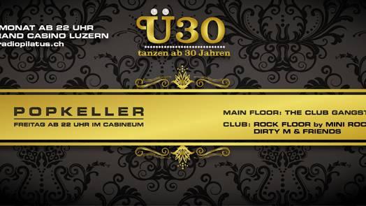 Let's Rock an der Ü30 Popkeller Party