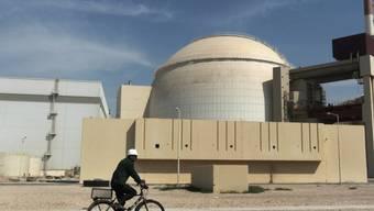 Eine iranische Atomanlage in Buscher (Archiv)