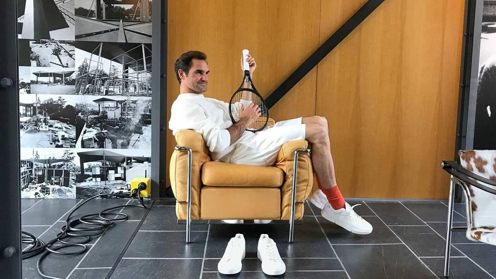 So sieht der On-Schuh von Roger Federer aus