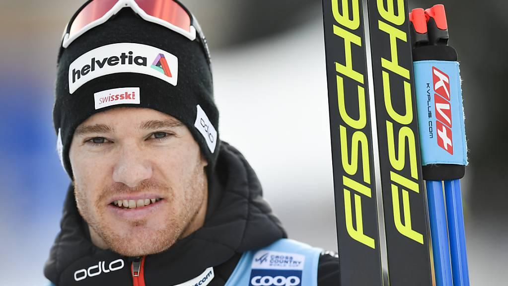 Dario Cologna blickt den restlichen zwei Etappen der Tour de Ski zuversichtlich entgegen. (Archivaufnahme)