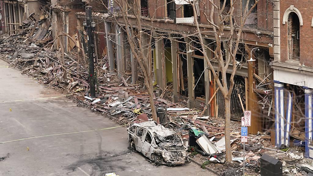Polizei in Nashville erhielt im Sommer 2019 Hinweis auf Bombenbau