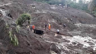 Wirbelsturm Yutu löste auf den Philippinen mehrere Erdrutsche aus.