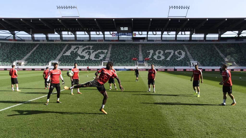 Schweizer Nati spielt im Kybunpark gegen Kroatien