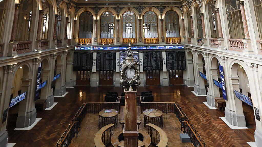 Schweizer Börse SIX bietet 2,8 Milliarden für spanische Börse. (Archiv)