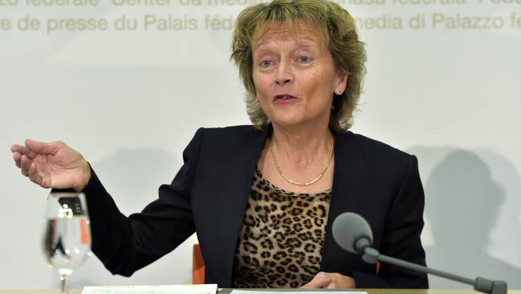 Bundesrätin Eveline Widmer-Schlumpf tritt auf Ende Jahr zurück.
