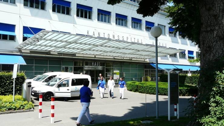 Das Mädchen wurde im Kantonsspital Aarau behandelt.