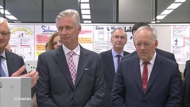 Belgischer König besucht ABB in Baden