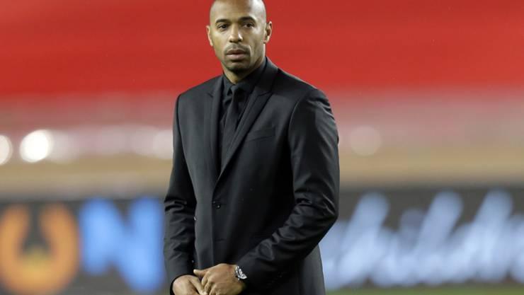 Einsam im Misserfolg in Monaco: Thierry Henry