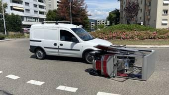 Unfall mit Elektromobil in Neuenhof am 14. Juli 2020