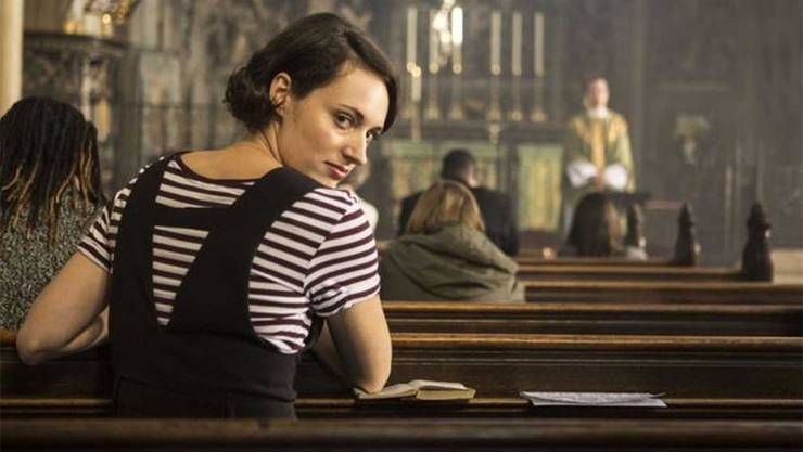 «Fleabag»: Phoebe Waller-Bridge spielt eine Frau, die scharf ist auf einen Priester. HO