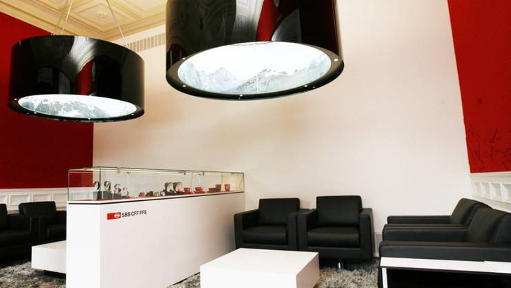 Eine luxuriöse, aber wenig besuchte Insel der Entspannung: Die SBB-Lounge am Hauptbahnhof Zürich. (Archivbild)