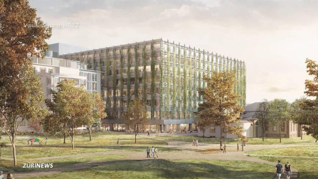 Neues Zürcher Hochschul-Quartier: Gebiet soll viel Grünfläche bieten