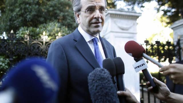 Der griechische Regierungschef Antonis Samaras (Archiv)