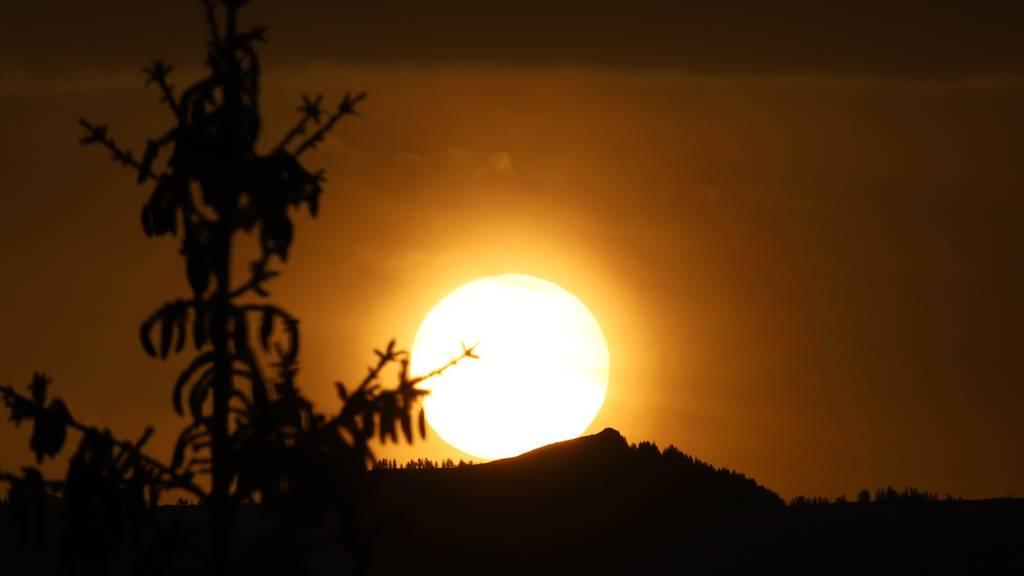 Und plötzlich war der Himmel rot: Saharastaub sorgt für Lichterspektakel in der Schweiz