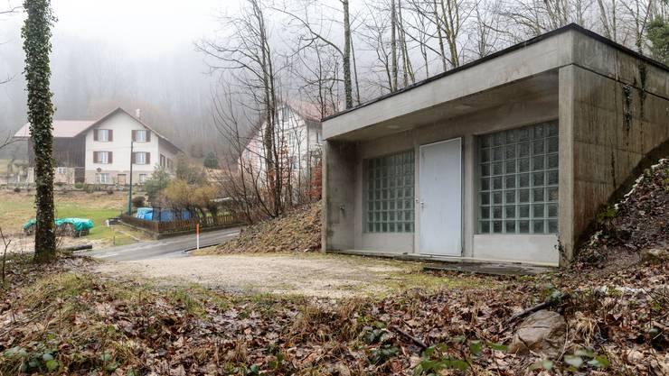 Das Reservoir Webernhüsli entspricht nicht mehr den heutigen Vorschriften.