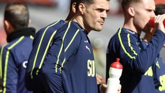 Es ist der Taktgeber im Spiel der Schweizer Nationalmannschaft: Mittelfeldspieler Granit Xhaka