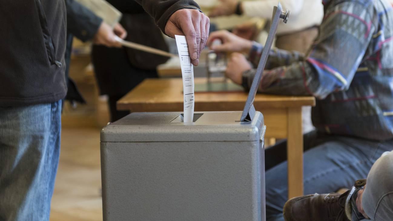 Abstimmungen Aargau Mai Urne