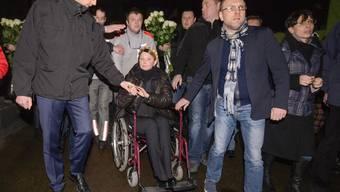 Julia Timoschenko ist frei und will Präsidentin werden