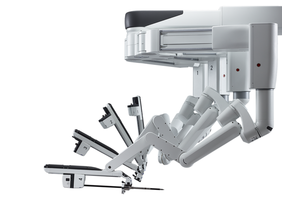 Operations-Roboter (© Intuitive Surgical)