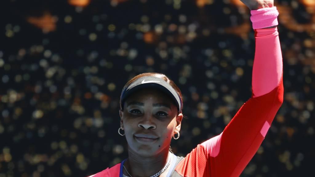 Serena Williams beeindruckt erneut