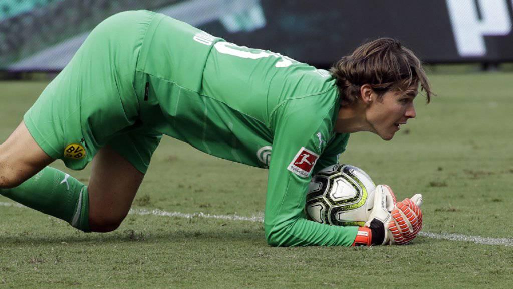 Zweimal ein sicherer Wert im Dortmund-Tor: der Schweizer Goalie Marwin Hitz