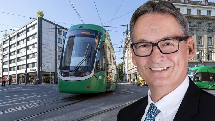 Bruno Stehrenberger ist der neue Chef der Basler Verkehrs-Betriebe.