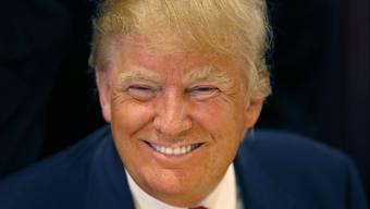 Donald Trump hat in seinem Leben gut lachen.