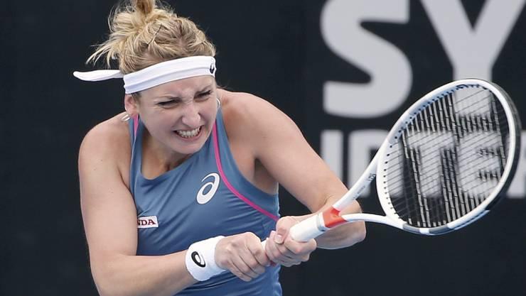 Für Timea Bacsinszky endete das WTA-Turnier in Sydney in den Viertelfinals