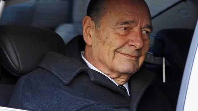Der ehemalige französische Präsident Jacques Chirac