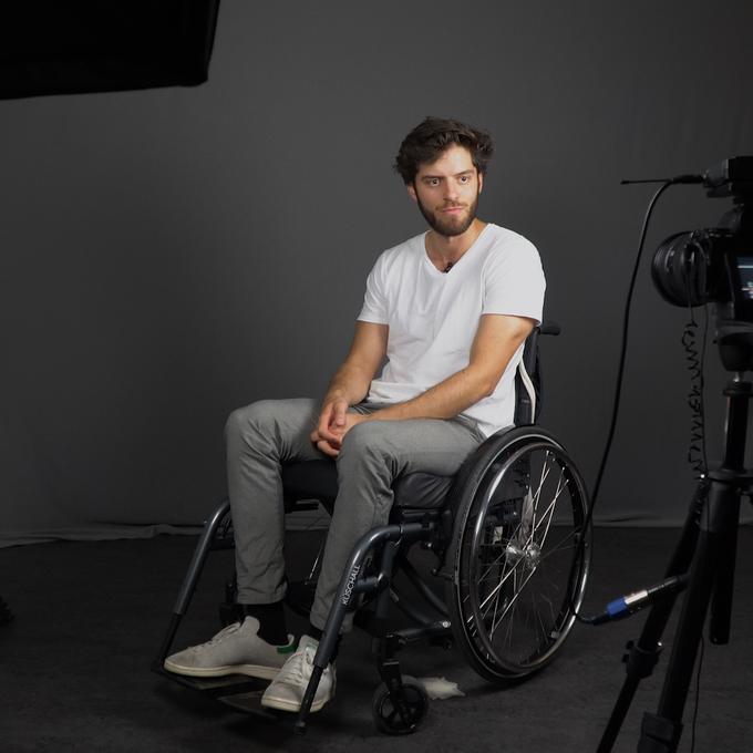 Maximilians emotionales Fazit seiner Woche im Rollstuhl