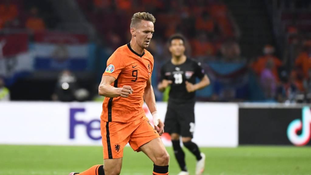 Luuk de Jong kann die EM nur noch als Zuschauer verfolgen