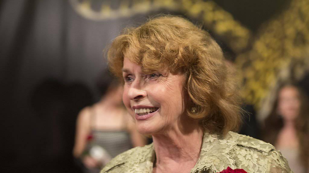 Die 74-jährige Senta Berger - hier am Filmfestival von Locarno - nervt sich über gewisse Interviewfragen.