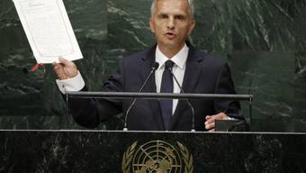 Didier Burkhalter in New York
