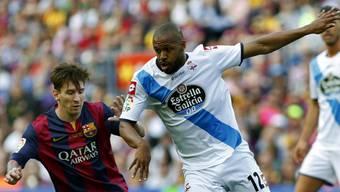 Deportivo bleibt trotz zwei Messi-Toren erstklassig