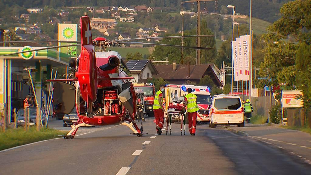 Auffahrkollision in Märstetten (TG): 21-jährige musste aus Auto befreit werden