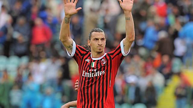 Zlatan Ibrahimovic verabschiedet sich aus Mailand