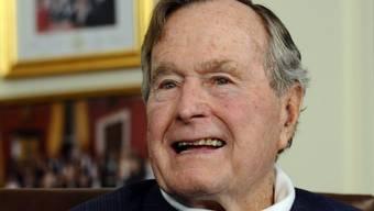 Ex-US-Präsident Bush senior hat das Spital verlassen (Archiv)