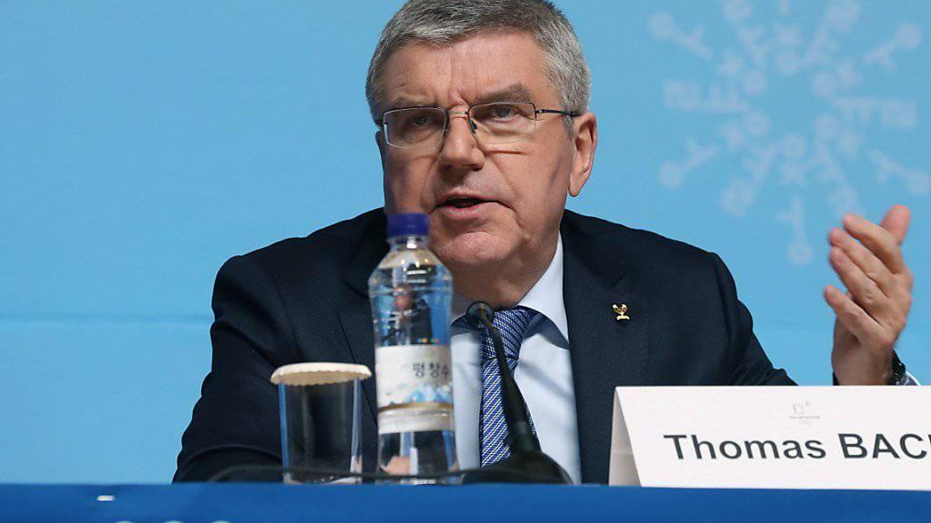 IOC-Präsident Thomas Bach kritisierte den Entscheid des Internationalen Sportgerichtshof