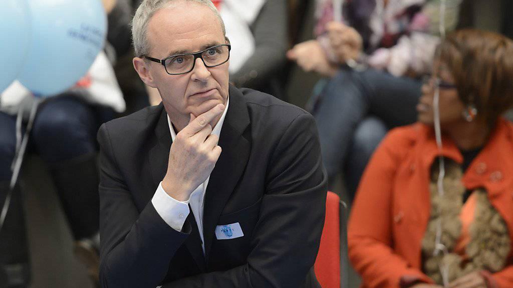 Der neu gewählte Genfer Nationalrat Benoît Genecand von der FDP entreisst den Grünen einen Sitz.