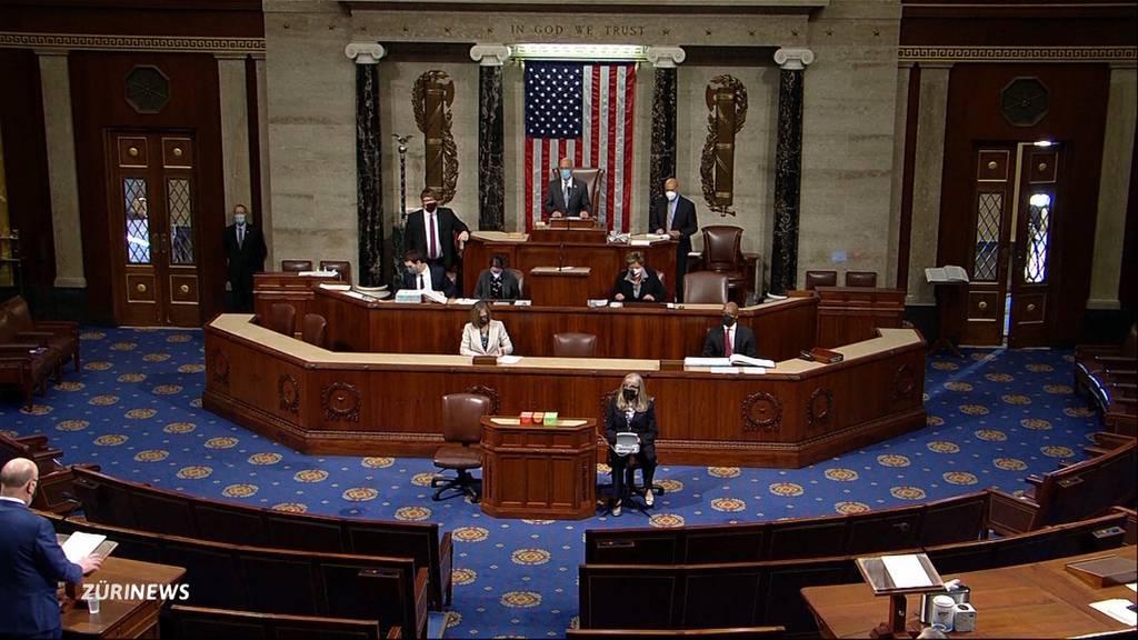 US-Parlament debattiert erneut über Trumps Absetzung