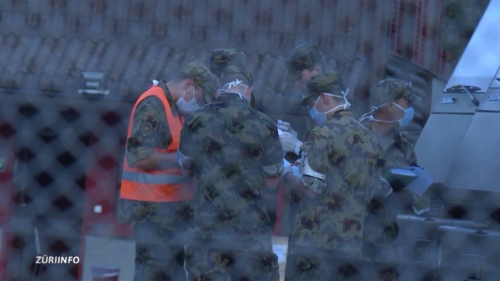 80 Fälle von Magen-Darm-Problemen in Armee-Kasernen