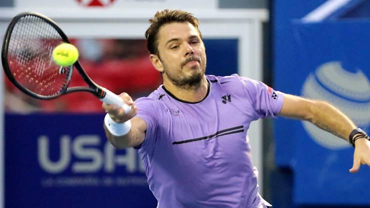 Stan Wawrinka steht in Acapulco in den Viertelfinals
