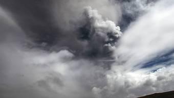 Riesige Aschewolke über dem Cotopaxi: Die Behörden rüsten sich für den möglichen Ausbruch.