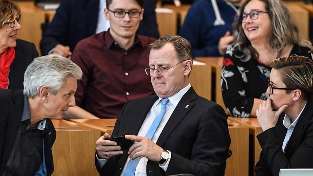Ramelow zum Thüringer Ministerpräsidenten gewählt