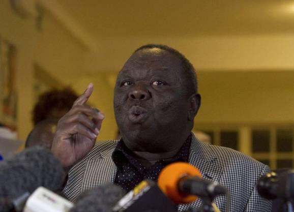 Morgan Tsvangirai ficht den Wahlausgang an