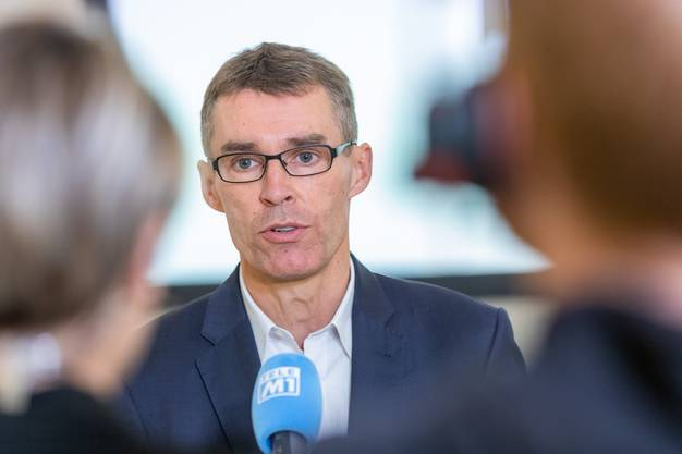 Lukas Pfisterer, Präsident der FDP Aargau.