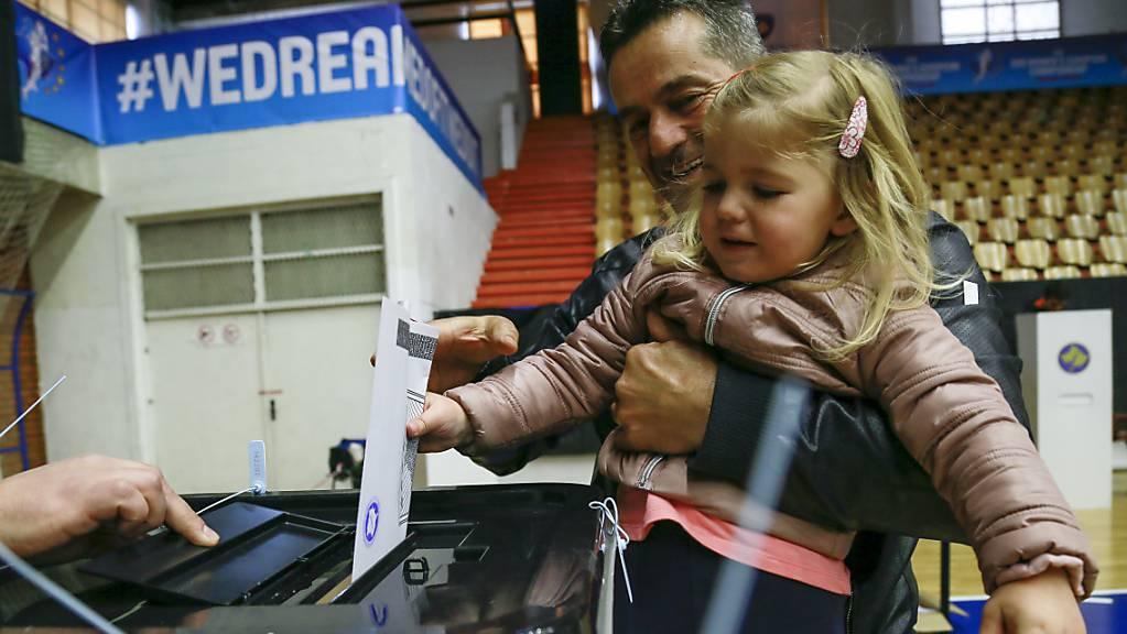 Im Kosovo wurde am Sonntag eine neues Parlament gewählt.